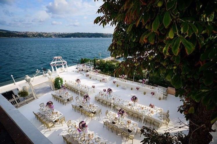Sait Halim Paşa Yalısı İstanbul Sarıyer Yeniköy Düğün Fiyatları
