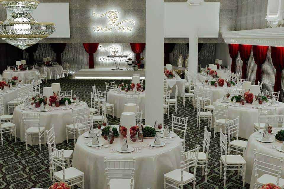 Violet Balo Davet Düğün