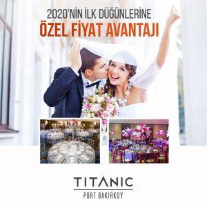Titanic Port Bakırköy Hotel Otelde Düğün Fiyatları
