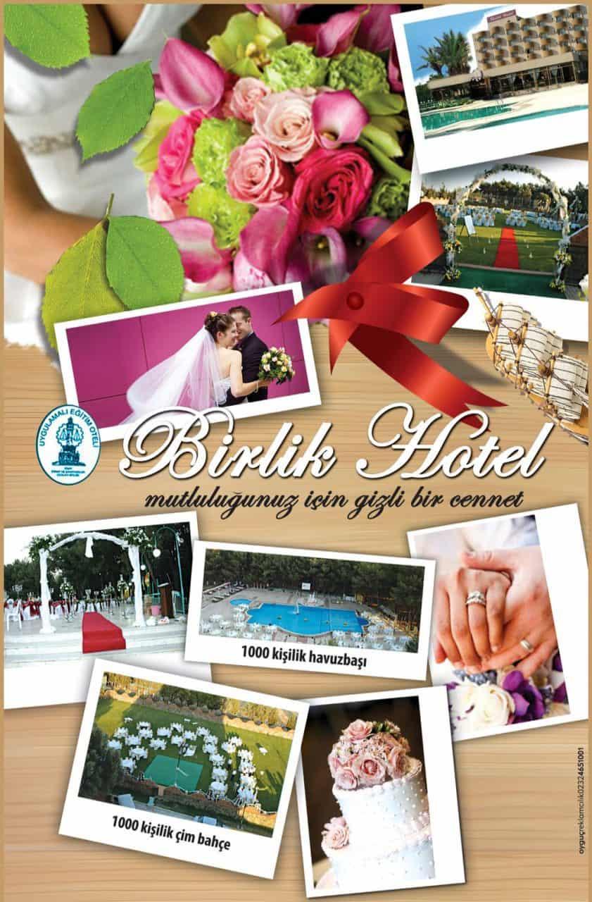 Buca Birlik Otel Kır Düğünü Havuz Başı Düğün İzmir