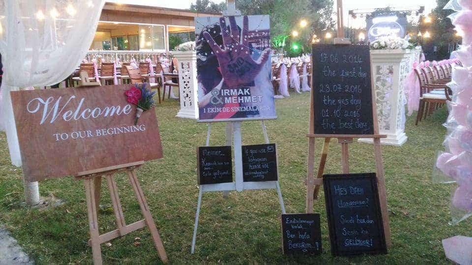 Kısmet Garden Wedding & Events / Urla Kır Düğünü