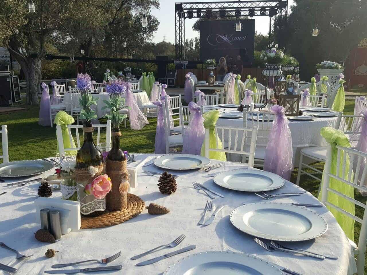 Kısmet Garden Wedding & Events Kır Düğünü Urla