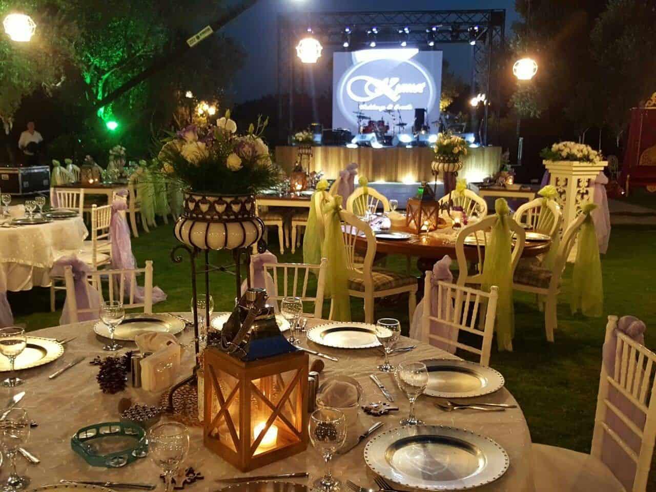 Kısmet Garden Wedding & Events Urla Kır Düğünü