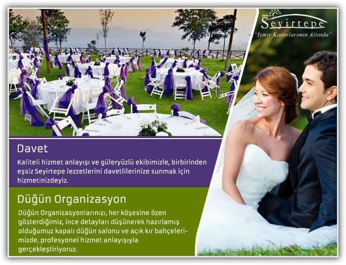 Seyirtepe Düğün Salonu - Bayraklı / İzmir