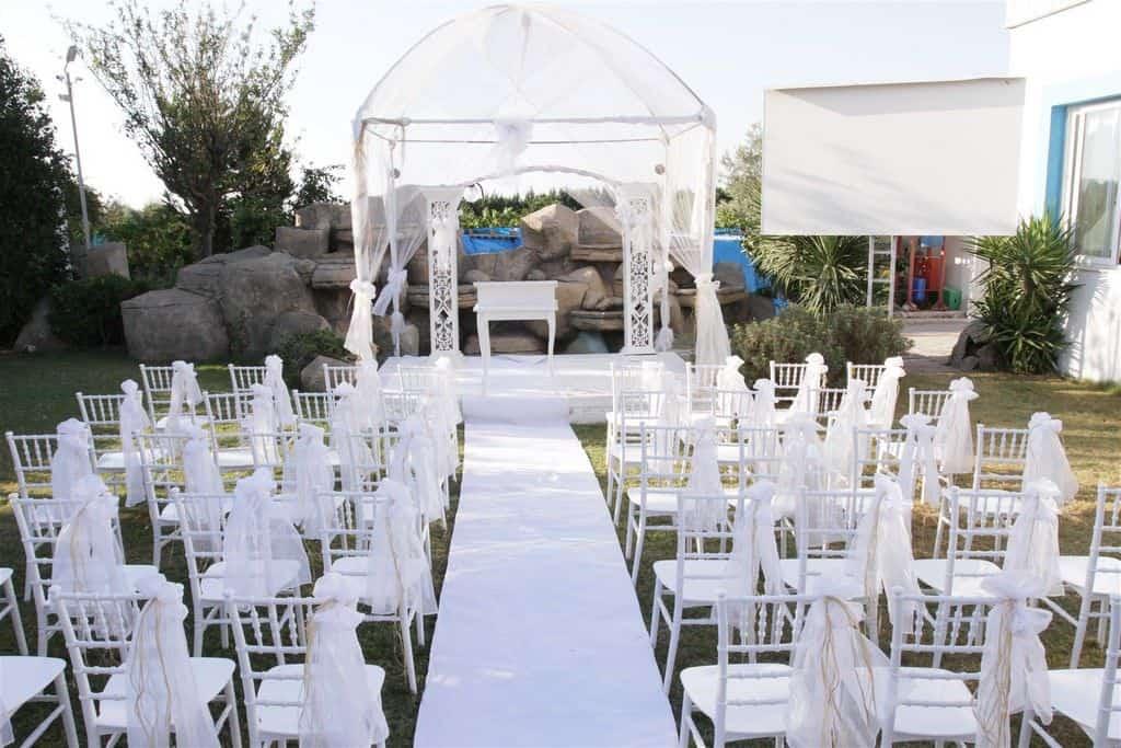 Prenses Garden - Kilise Düzeni Nikah Töreni