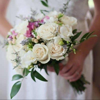 Evlenme Teklifi Çiçekleri Beyaz Gül