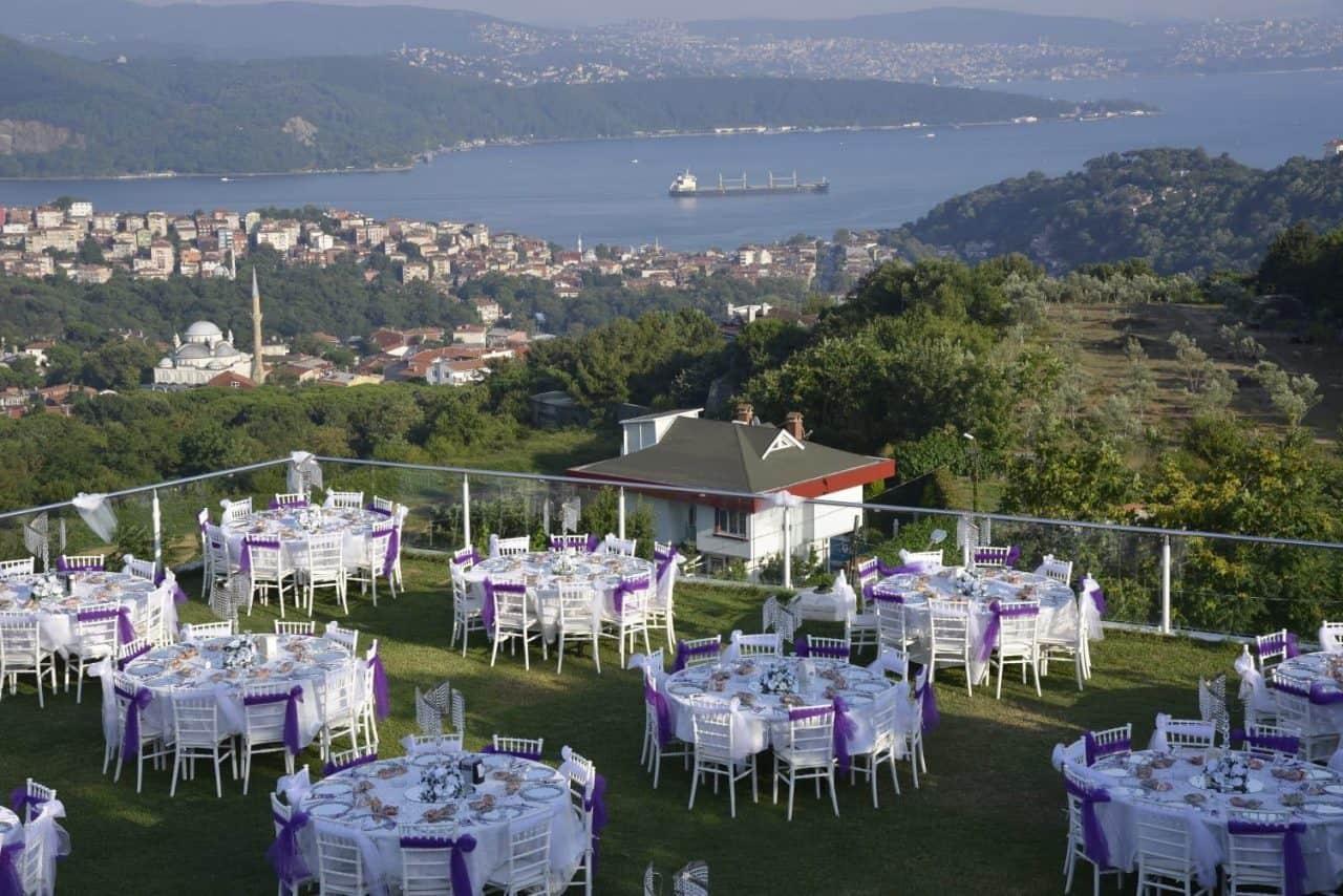 villa ozan sarıyer istanbul düğün fiyatları