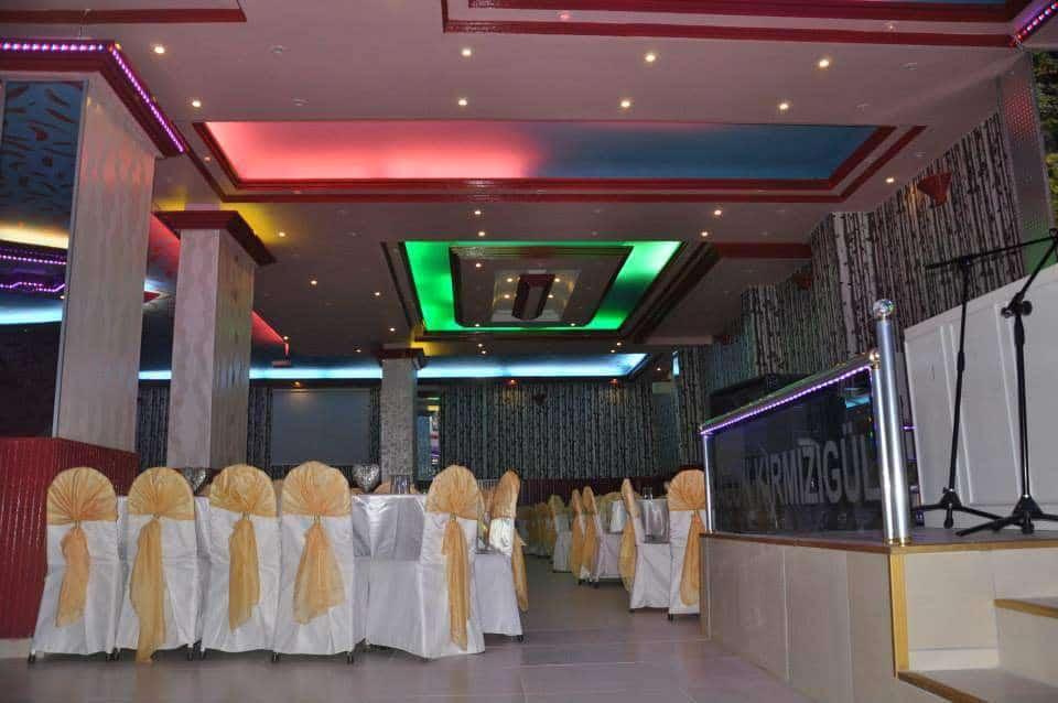 Kırmızıgül Düğün Sarayı düğün fiyatları