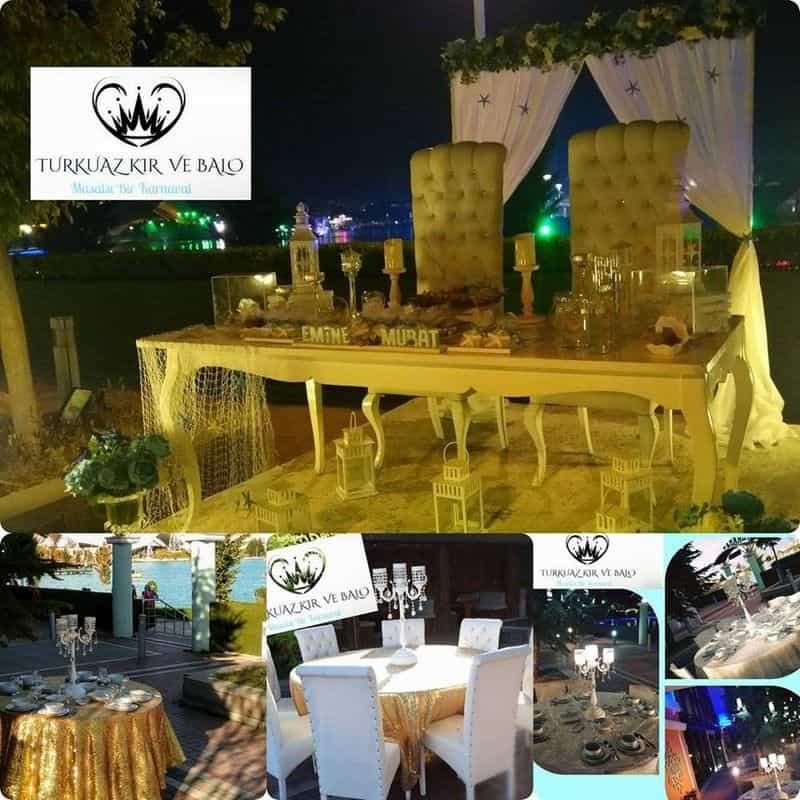 Turkuaz Restaurant ve Düğün Salonları düğün fiyatları
