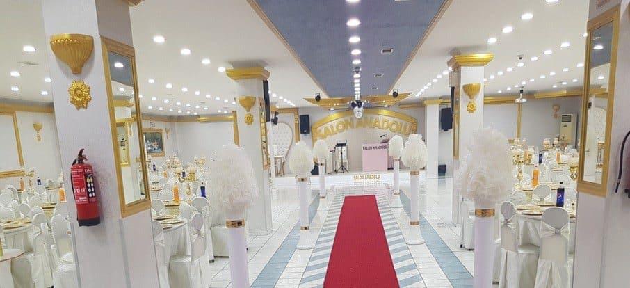 Anadolu Düğün Sarayı düğün fiyatları