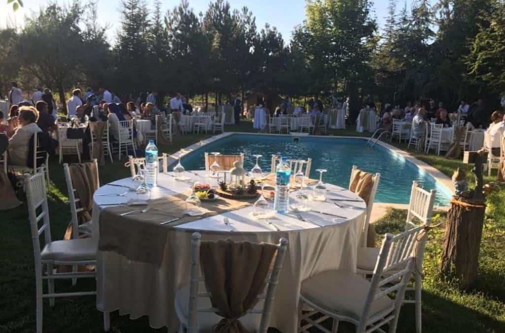 Eymir Havuzbaşı Restaurant Kır Düğünü