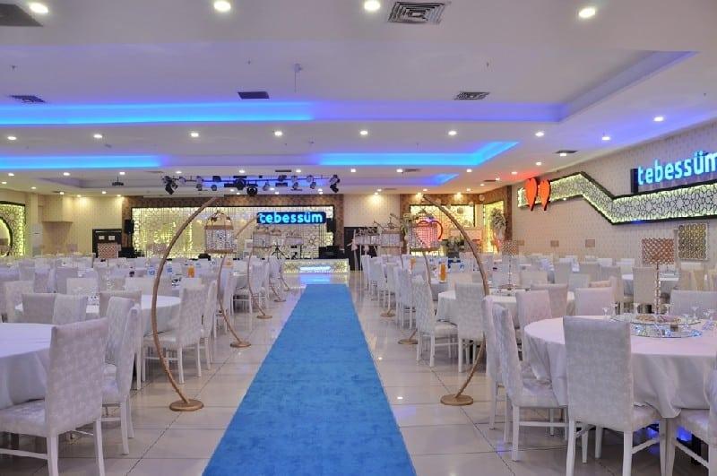 Tebessüm Düğün Salonu Düğün Fiyatları