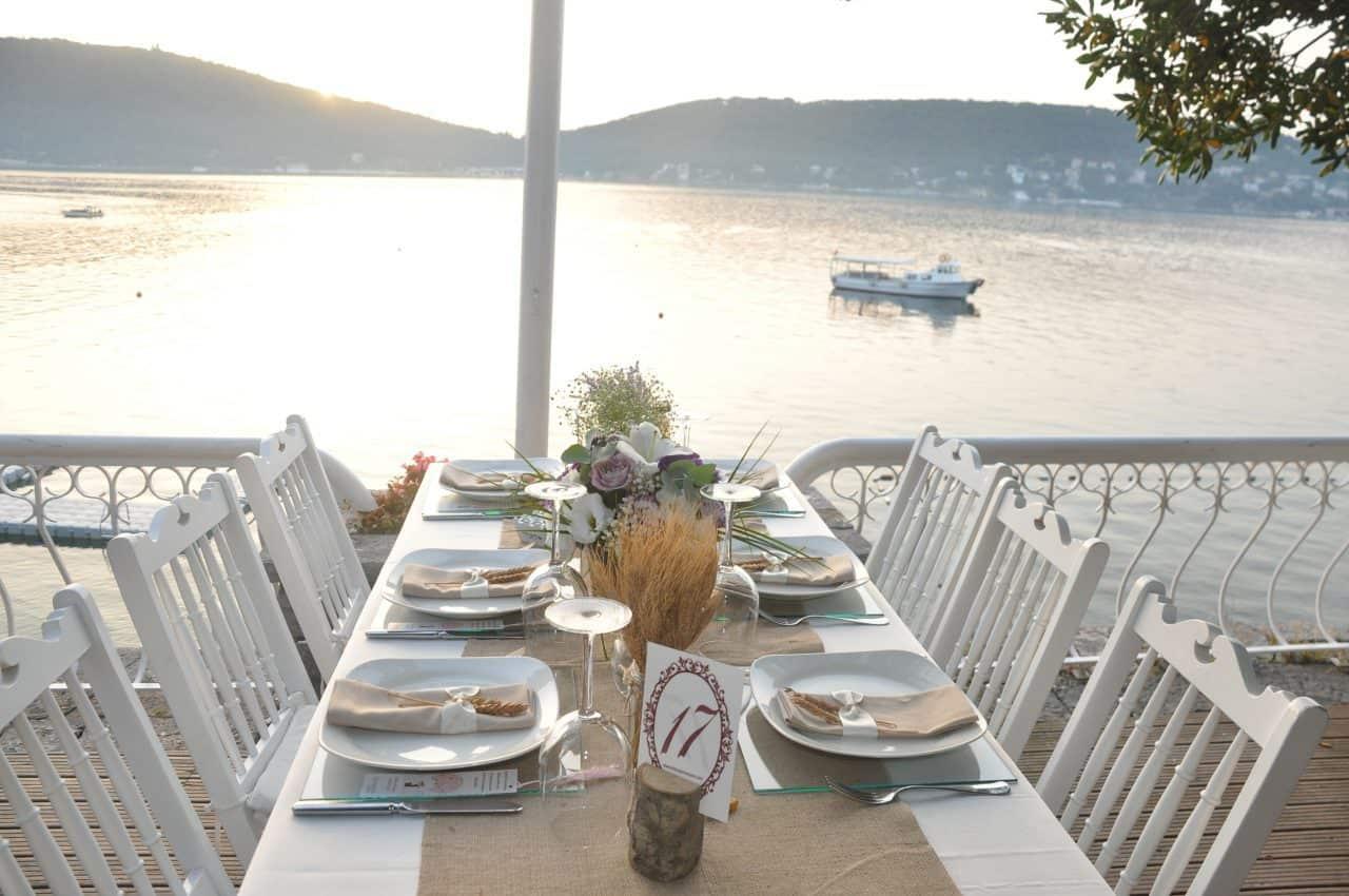 Elio Restaurant Sedef Adası Büyükada düğün fiyatları
