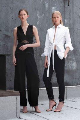 358fbff7d8684 Abiye Bluz Modelleri. Siyah ve beyazın eskimeyen şıklığı için Yigal Azrouel  2018 Sonbahar Koleksiyonunu inceleyebilirsiniz.