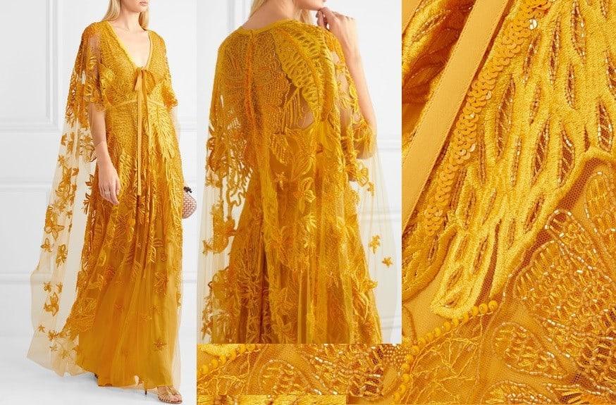 Sarı Abiye ve Nişanlık Modelleri