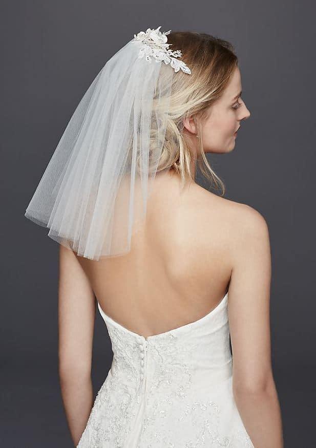 36f53ac063758 Ancak ihtişamlı bir düğün yapacaksanız bu gelin duvağından uzak durmanızı  tavsiye ederiz. Duvak Modelleri