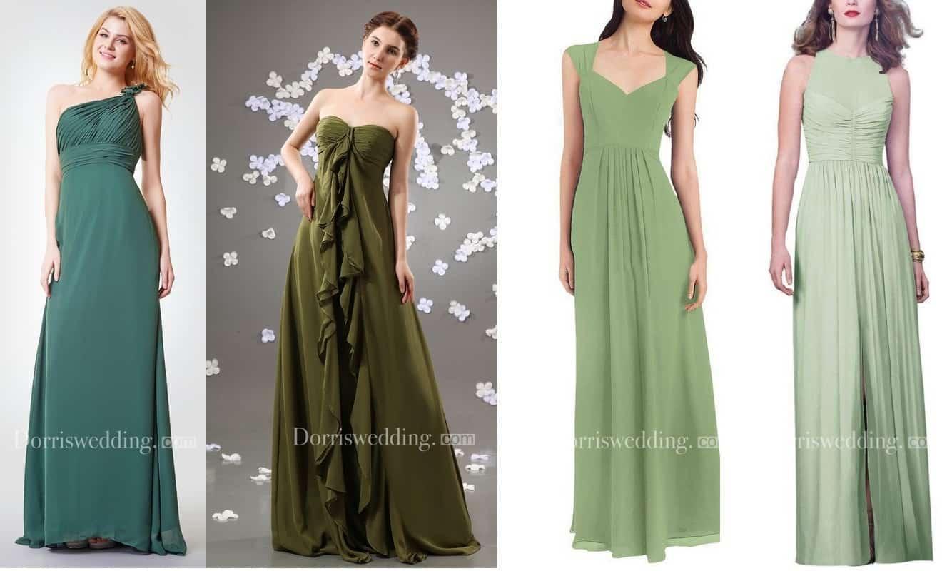 Yeşil Abiye Modelleri