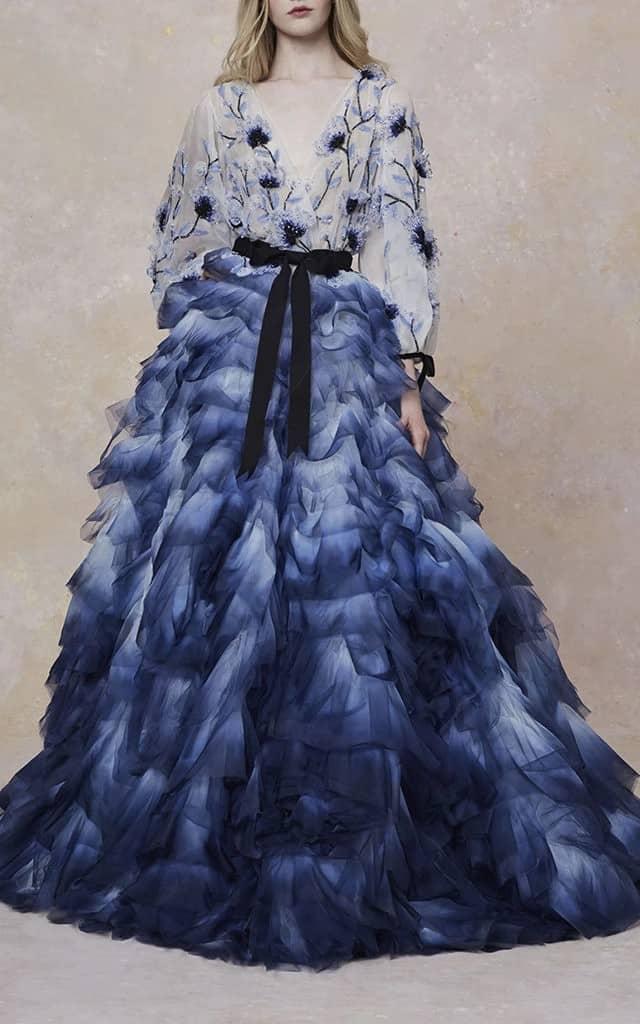 Mavi Abiye ve Nişanlık Modelleri