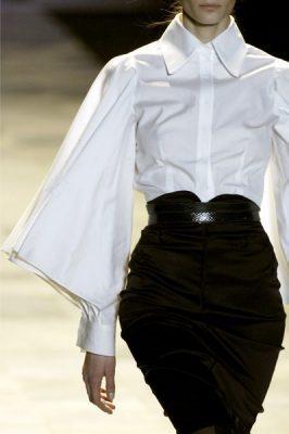 da930e115bee7 Abiye Etek Modelleri. New York Moda Haftası'nda sergilenen Zac Posen  Sonbahar 2006 koleksiyonundan hoş bir tasarım örneği.