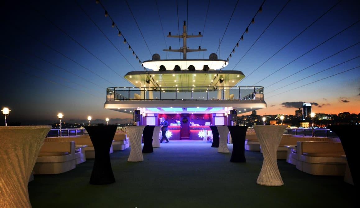 Beyaz Martı Davet Gemisi Sarıyer İstanbul Düğün Gemileri