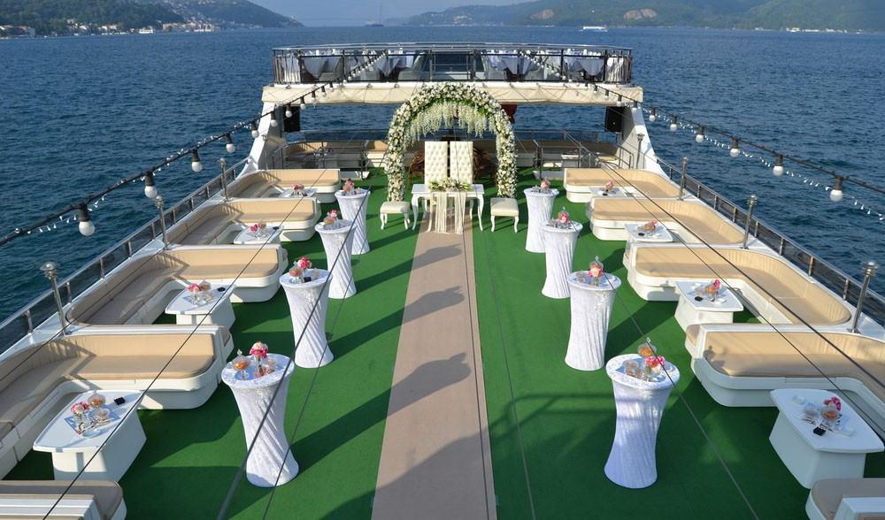 beyaz martı davet gemisi sarıyer tekneden düğün firmaları