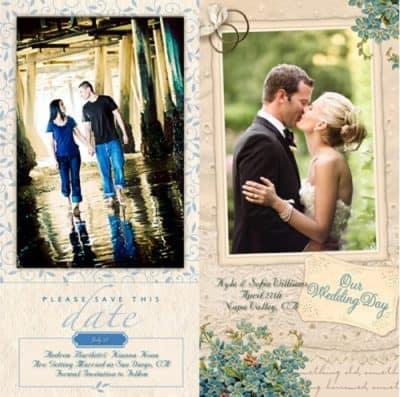 Resimli ve Fotoğraflı Düğün Davetiyeleri