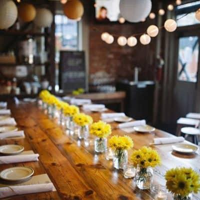 Restoranda Düğün