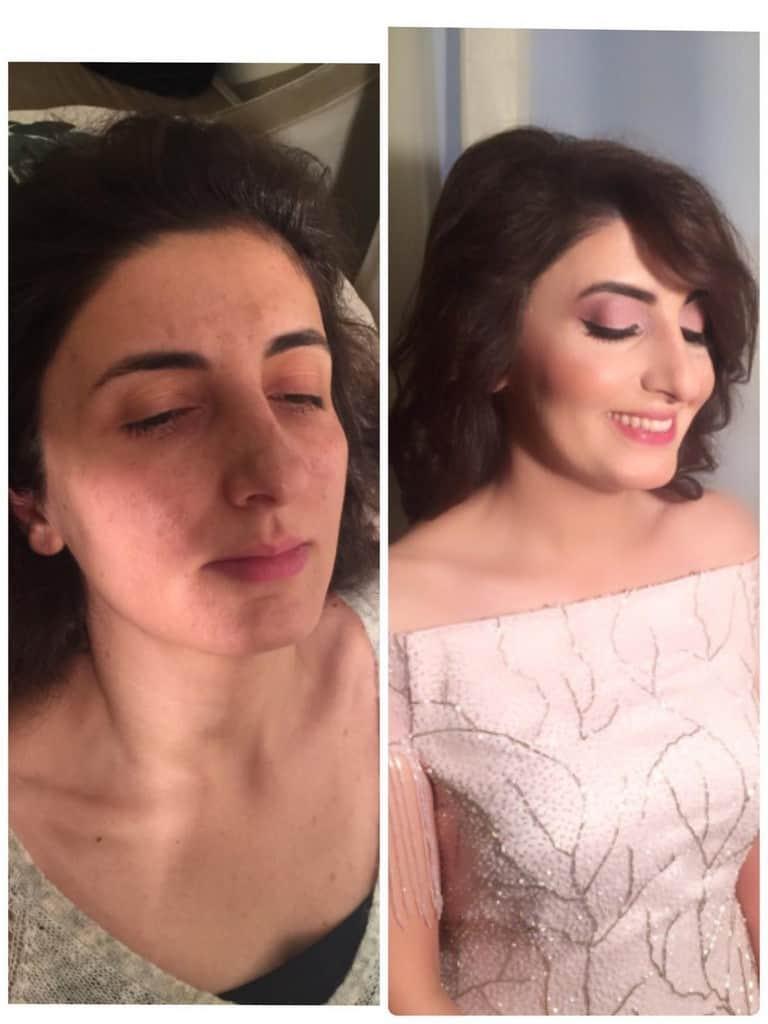 Make up by jeylo kağıthane gelin makyajı fiyatları