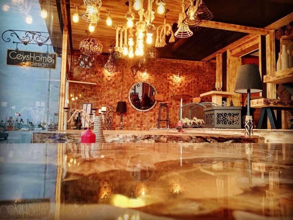 Ceyshome Design İnstashop Boutique cafe Güzelbahçe Organizasyon Fiyatları