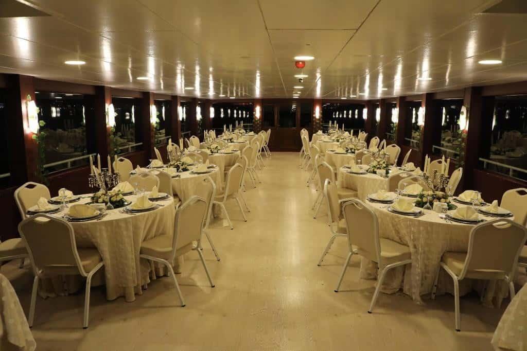 Balıklı Davet Gemisi Sarıyer Düğün Fiyatları