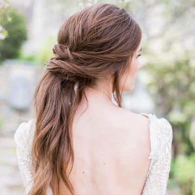 At Kuyruğu Gelin Saçı Modelleri