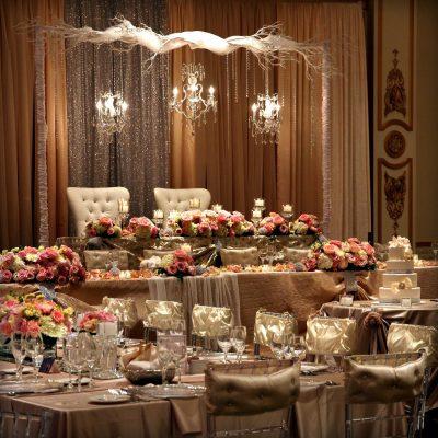 Düğün Masası Süslemesi Modelleri
