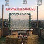 Rustik Kır Düğünü Beykoz Kır Düğün Fiyatları