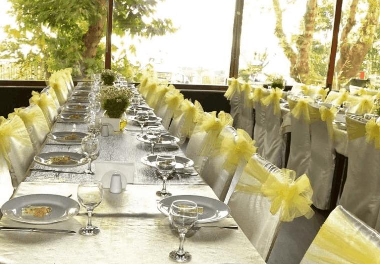 Moda Spor Kulübü nikah sonrası yemeği fiyatları